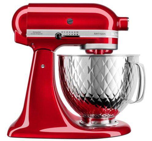 KitchenAid Artisan 5KSM156QPECA Küchenmaschine mit 4,8 Liter Schüssel für 329€ (statt 411€)