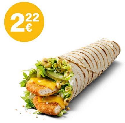 Big Mac 🍔 und McWrap Chicken Spezial 🌯 für je 2,22€   ohne App oder Gutschein