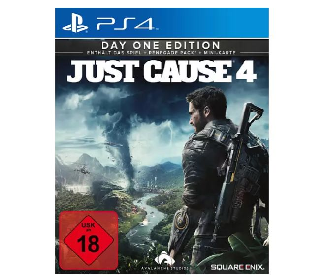 Just Cause 4 (PS 4) ab 4,99€ (statt 13€)