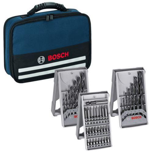 Bosch Werkzeug-Tasche mit Zubehör passend für GSR 12V-15 und 10,8-2-Li
