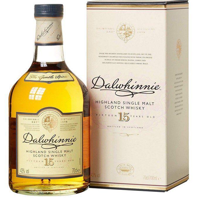 Dalwhinnie Highland Single Malt Scotch Whisky 15 Jahre mit 43% Vol. ab 27,44€ (statt 34€)