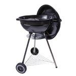 Dangrill Kettle BBQ Basic Kohle-Kugelgrill mit Unterbau und Rädern in Schwarz für 15€ (statt 34€)