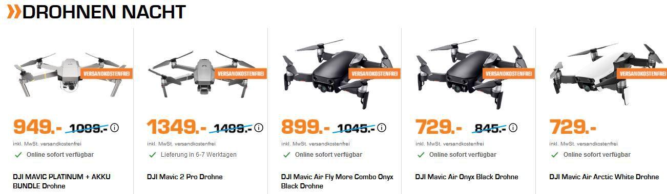Saturn Drohnen Late Night: z.B. PROPEL Star Wars Drohnen in Sammlerbox für 44€ (statt 50€)