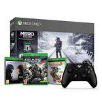 Xbox One X Metro Exodus Bundle + 2. Controller + Halo 5 + Rare Replay + Gears of War 4 für 421,67€ (statt 517€)