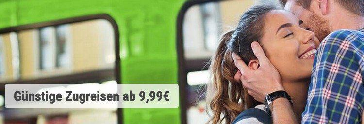 Bei FlixTrain heute und morgen Fahrten zwischen Köln und Berlin mit 50% Rabatt   Tickets ab 4,99€