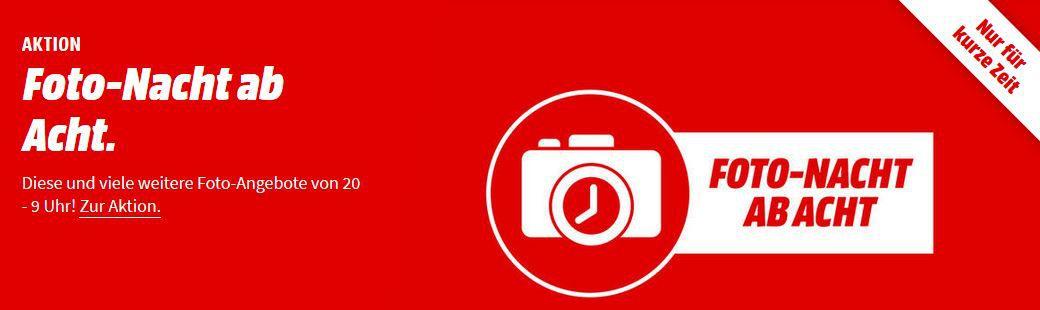 Media Markt Foto Late Night Aktion: günstiges Foto & Zubehör   z.B. GOXTREME Live 360° Kamera für 44€ (statt 90€)