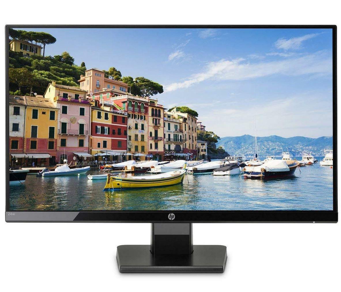 HP 24w   24 Zoll Monitor (IPS, Full HD, HDMI) für 89,99€ (statt 109€)