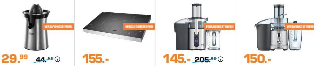 Saturn Late Night: elektro Kleingeräte günstig   z.B. SAGE The Nutri Juicer Plus Entsafter für 145€ (statt 185€)