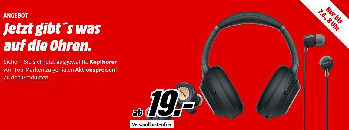 Media Markt Kopfhörer mini Sale: z.B. SENNHEISER HD 4.40 BT Wireless, Over ear Kopfhörer Bluetooth für 69€ (statt 85€)