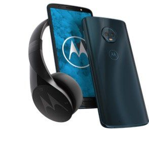 Motorola Moto G6 Play 32GB Dual SIM + Motorola Kopfhörer für 133,95€ (statt 162€)
