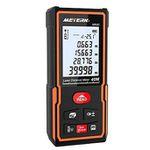 Meterk Laser Entfernungsmesser MK40 staub- & wasserdicht für 17,99€ (statt 25€)