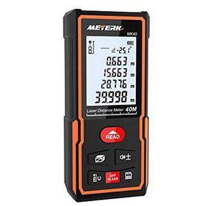 Meterk Laser Entfernungsmesser MK40 staub  & wasserdicht für 18,99€ (statt 24€)
