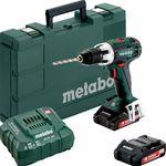 Metabo BS 18 LT Akku-Bohrschrauber + Ladegerät + 2 Akku 3Ah für 161,96€ (statt 175€)