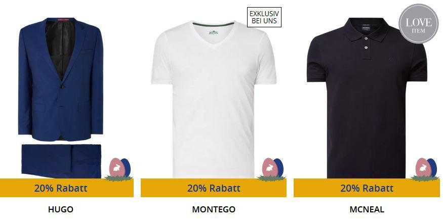 🔥 Peek & Cloppenburg* Weekend Sale mit 20% extra Rabatt auf viele Artikel   Lacoste, Hilfiger, Puma, Nike oder Adidas uvm.