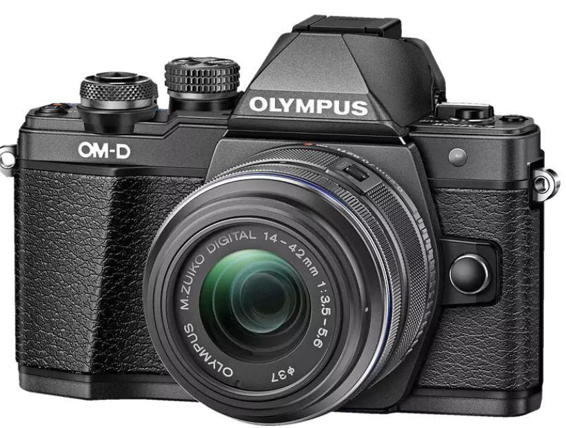 Olympus OM D E M10 Mark II   Systemkamera + 14 42 mm Objektiv für 389€ (statt 569€)