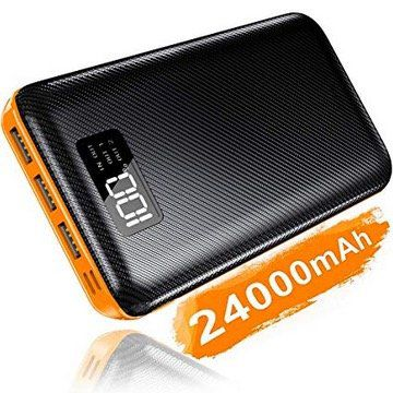 KEDRON Powerbank mit 24000mAh für 20,29€ (statt 29€)