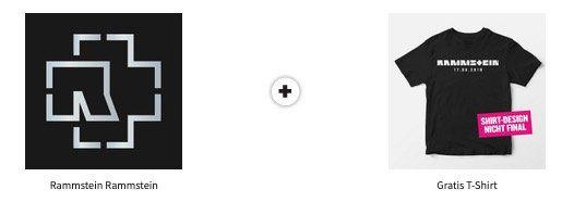 Vorbei! Rammstein Album vorbestellen und T Shirt 👕 gratis dazu erhalten