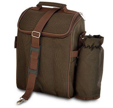 BERGHOFF 4490328 Picknick Tasche in braun für 10€ (statt 20€)