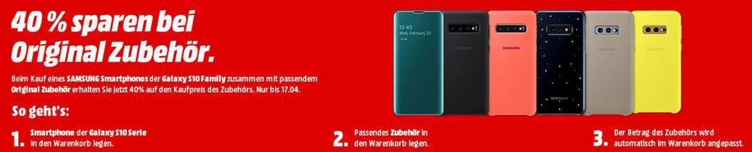 Tipp: Media Markt Samsung S10 & Zubehör Tiefpreiscouch: günstiges Galaxy Watch Bundle