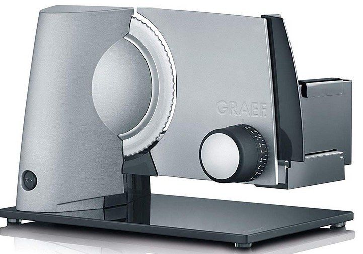 Graef S32000 Allesschneider Silber für 115,90€ (statt 135€)
