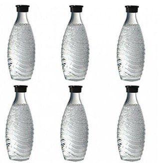 SodaStream Glaskaraffe im 6er Set je 0,6 Liter für 44,99€ (statt 54,93€)