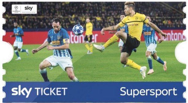 Sky SuperSport Ticket mit z.B. Bundesliga, Champions League, Wimbledon bis Ende Juni für 39,99€