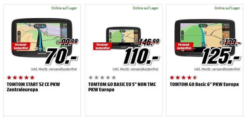 Media Markt TomTom Navi Tiefpreisspätschicht : z.B. TOMTOM TMC Empfänger Ladekabel für 15€ (statt 36€)
