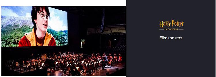 Nur heute! Harry Potter in Concert Tickets bei Vente Privee   z.B. Die Kammer des Schreckens in Frankfurt ab 43,45€ (statt 79€)