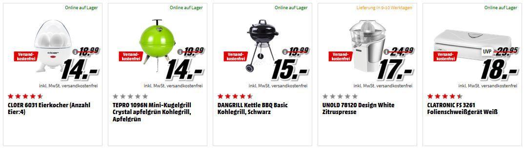 Top! Media Markt Küchengeräte Aktion: z.B .BOSCH MUMX15TL MaxxiMUM Küchenmaschine für 299€ (statt 399€)
