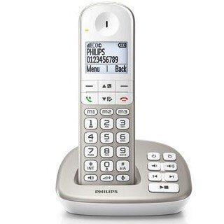 Philips XL4951S/39 Schnurloses Telefon mit AB für 30€ (statt 53€)