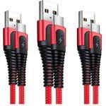 XLTOK USB Kabel Type C – 3 Stück [1M+1M+2M] für nur 5,99€ [Prime] (statt 9,99€)
