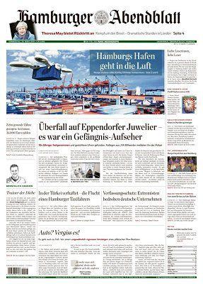 NUR HEUTE: Hamburger Abendblatt als ePaper gratis