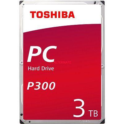 Toshiba P300 3TB Festplatte ab 59,40€ (statt 70€)