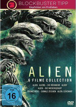 Alien 1 6 Collection (DVD) für 19€ (statt 30€)