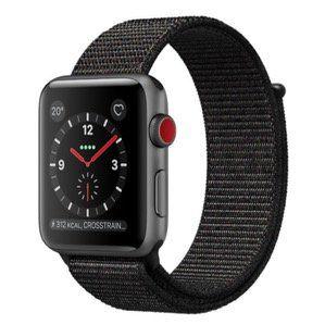 Apple Watch Series 3 GPS + Cellular 42mm mit Sport Loop Armband für 299,99€ (statt 365€)