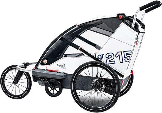 Fahrradanhänger Leggero Vento R Sail Sport (2018) für 639€ (statt 999€)