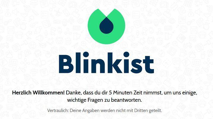 3 Monate Blinkist gratis dank kurzer Umfrage (5 Min.)