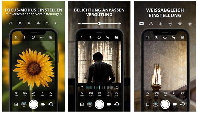 Android App: HD Kamera Pro : Best Professional Camera App gratis (statt 5,29)