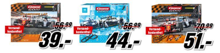 TOP! Media Markt Carrera Hot Race Aktion   viele günstige Rennbahnen z.B. CARRERA Ferrari Race Spirit Rennbahn für 44, € (statt 69€)