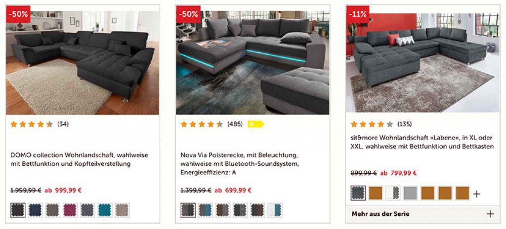 Cnouch mit 15% auf fast alles (Möbel, Sitzgruppen etc.) 🛋 + VSK frei ab 50€