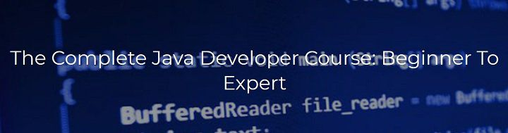Ausverkauft! Udemy: The Complete Java Developer Course: Beginner To Expert gratis (statt 195€)