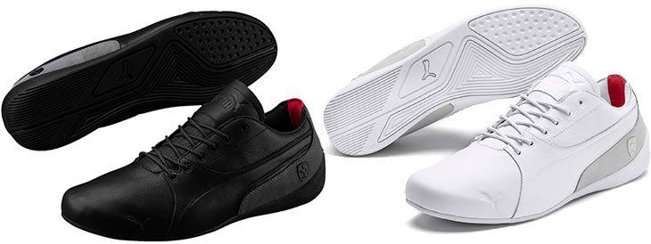 PUMA Ferrari Drift Cat 7 Lifestyle Herren Sneaker in Schwarz oder Weiß für je 26,60€ (statt 97€)   Restgrößen