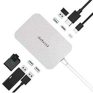 Dodocool USB C Hub 7in1 Anschlüsse für 17,99€ (statt 30€)
