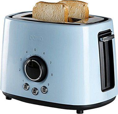 DOMO DO953T Toaster in hellblau für 26€ (statt 43€)