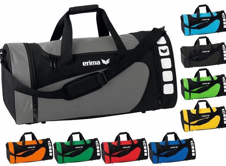 Erima CLUB 5   Sporttasche in div. Farben & Größen für je 13,40€ (statt 20€)