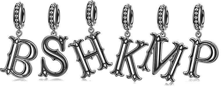 Buchstabenanhänger aus 925 Sterling Silber inkl. Geschenkbox ab 8,99€   Prime