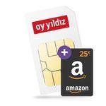 25€ Amazon + o2 Allnet-Flat von Ay Yildiz mit 4,5GB LTE für 7,49€ mtl.