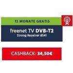 🔥 12 Monate freenet TV DVB-T2 oder 9 Monate freenet-SAT effektiv gratis bei 24 Monatsvertrag (ab 13. Monat 5,75€)