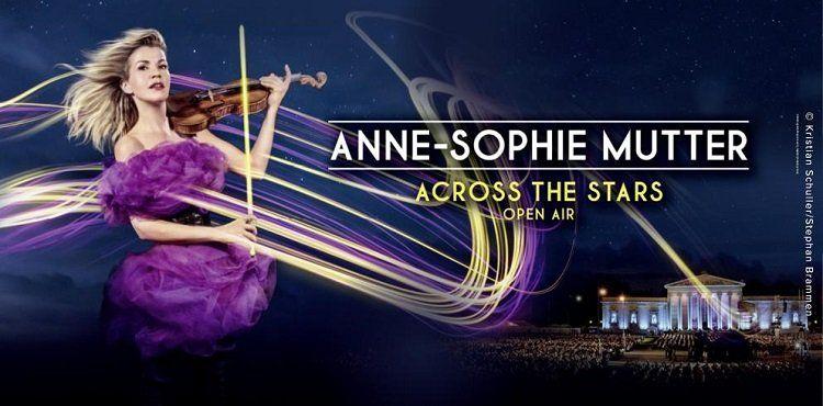 Anne Sophie Mutter ️OpenAir Across the Stars in München + ÜN im 4* Hotel ab 99€ p.P.