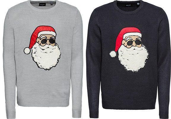 Only & Sons Herren Pullover Weihnachtsmann für 13,41€ (statt 21€)
